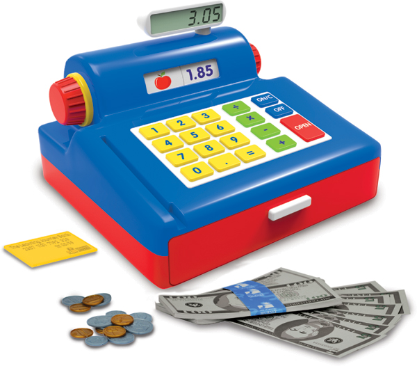 Play & Learn Cash Register