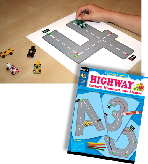 Highway Letters, Numbers & Shapes