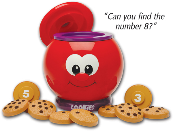 Count & Learn Talking Cookie Jar