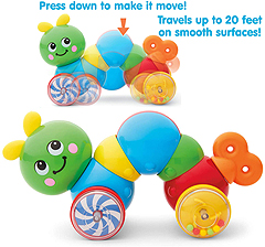 Press and Go Inchworm