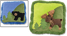 Weighted Animal Scene Lap Pad
