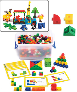 Linking Cubes Activity Set