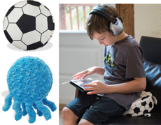 More Vibrating Seat Cushions! - Soccer Ball & Plush Jelly