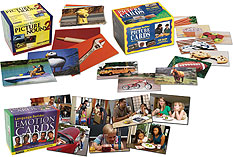 Set of All 3 Language Builder Picture Card Sets