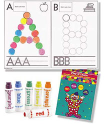 Do-A-Dot Play and Learn ABC