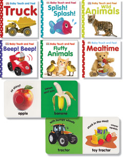 Baby Touch & Feel Books - Set No. 2