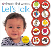 Simple First Words Button Books